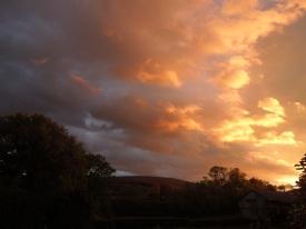 Robin How sunset