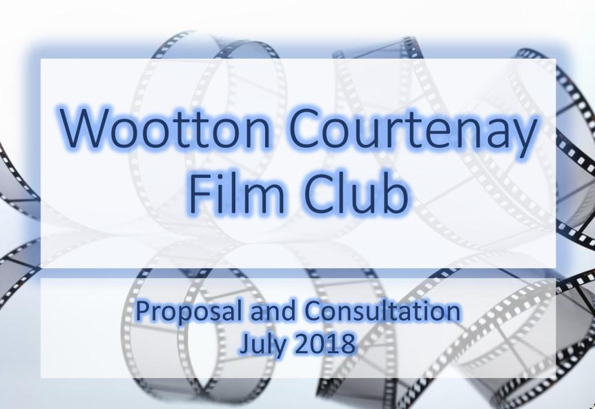 Film Club Proposal – Your FeedbackRequested