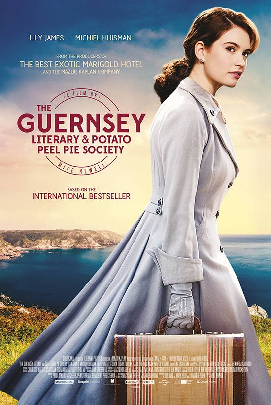 Film Club: The Guernsey Literary Potato and Peel Pie Society, October 29th