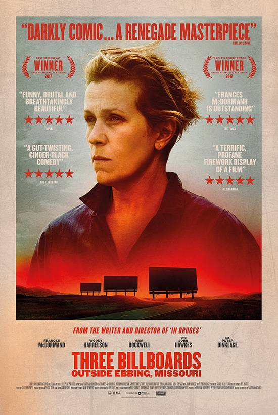 Film Club – December 17th – Three Billboards Outside Ebbing Missouri