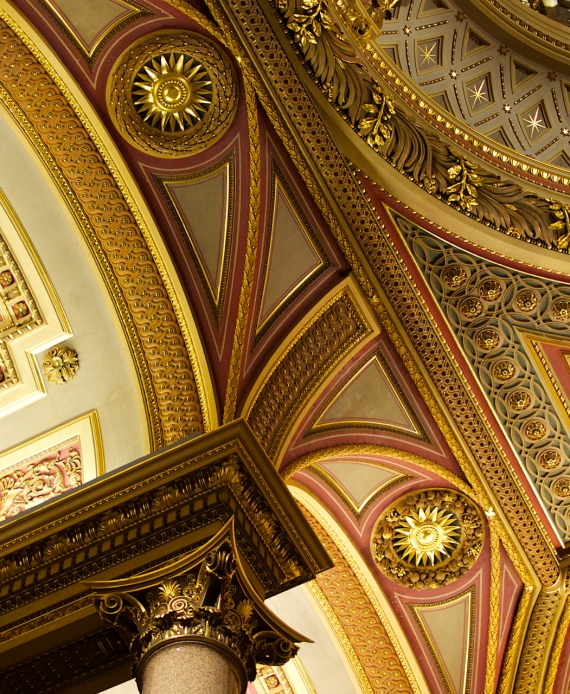 The Fitzwilliam Museum Ceiling