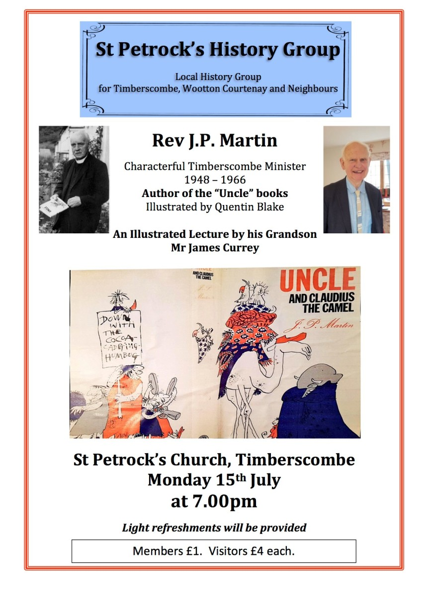 JP Martin Lecture poster