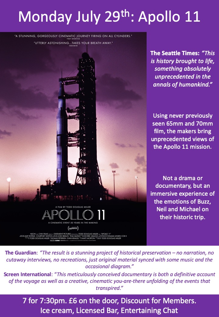 July 29th: Apollo 11