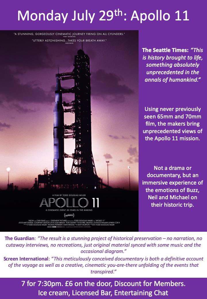 July 29th: Apollo11