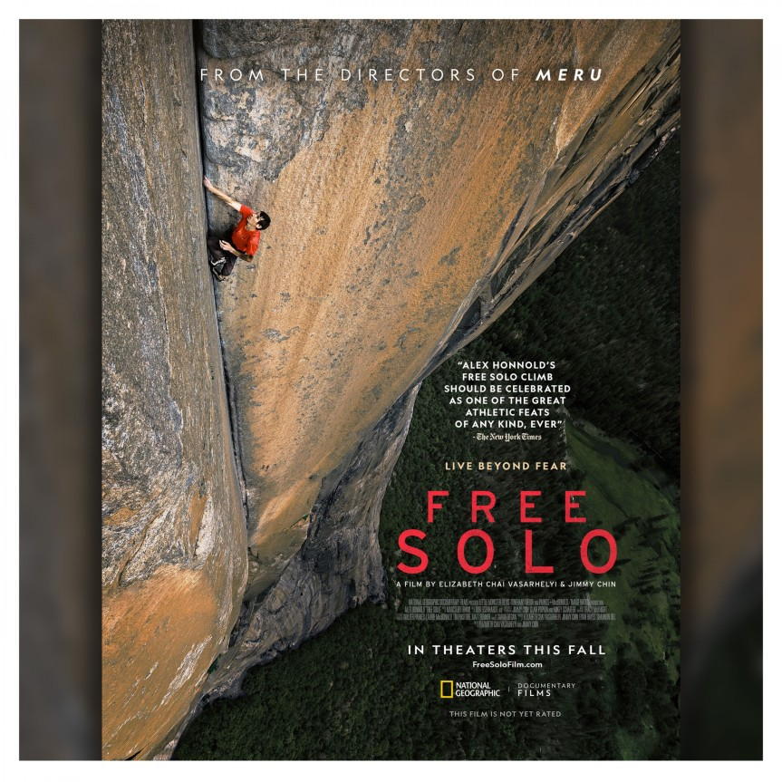 Monday Night is Film Night : Free Solo