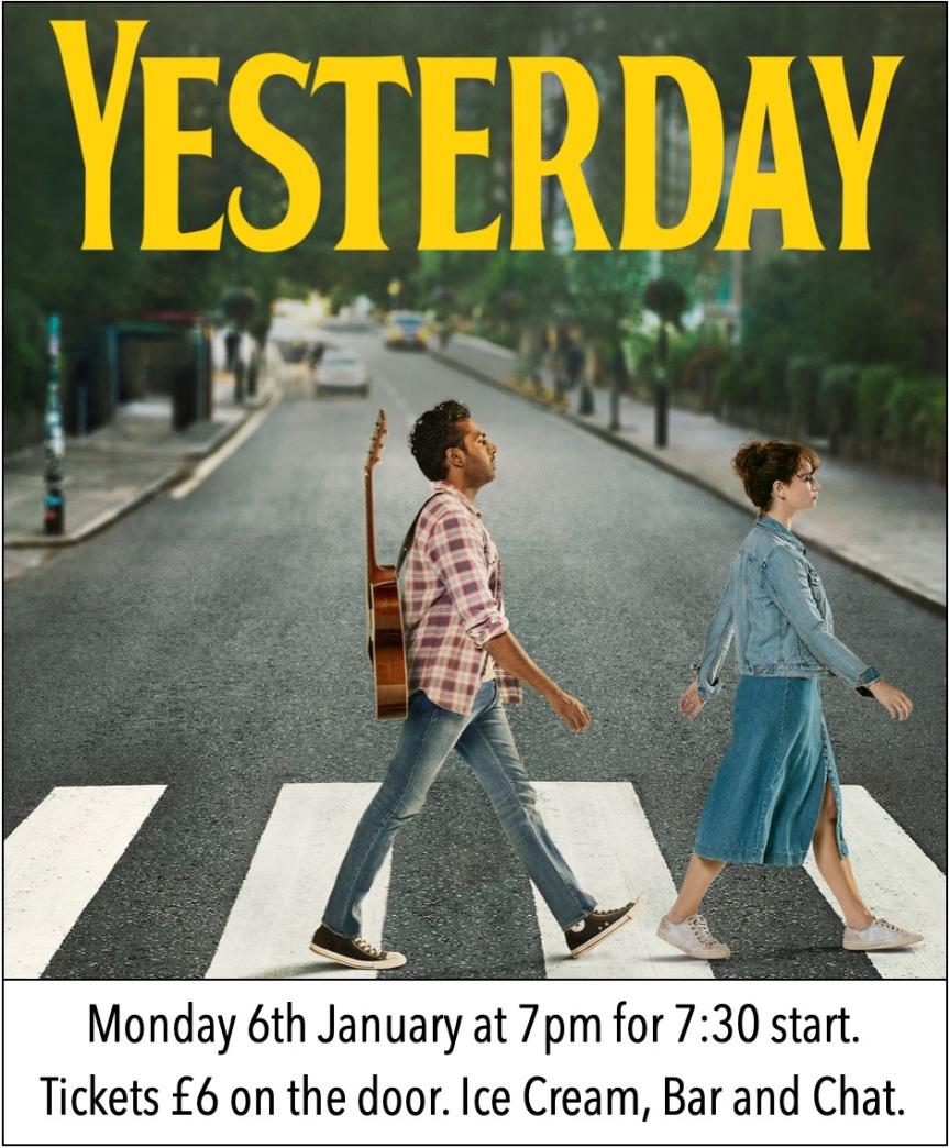 4 Days Until Yesterday : 2020 Film ClubSeason