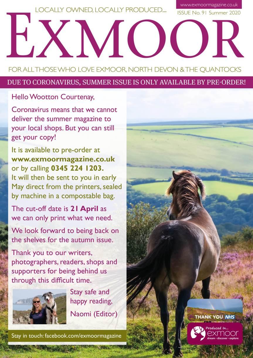 Wootton Courtenay poster