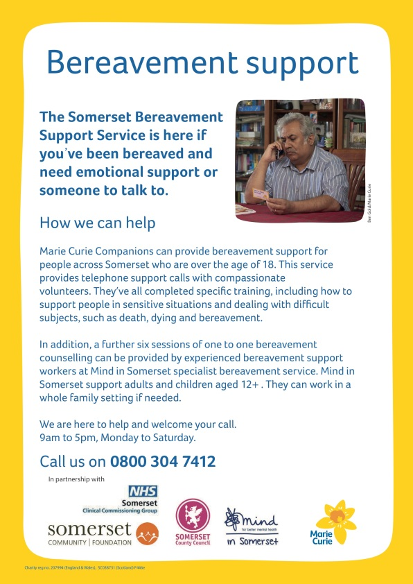 FINAL public - Somerset Bereavement Support Service