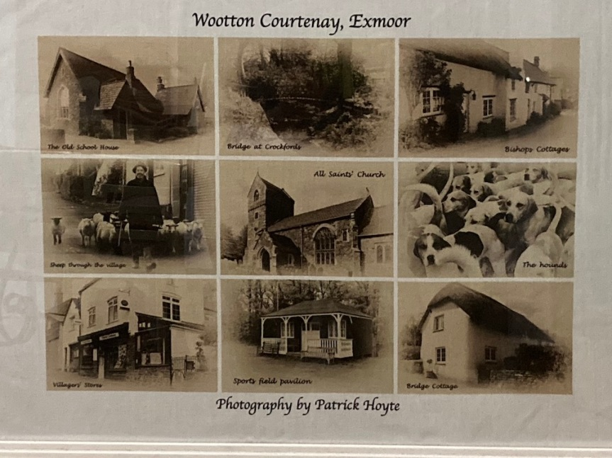 The Wootton Courtenay Tea Towel